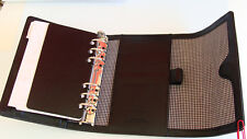 """Compact 1.25"""" Rings LEATHER FRANKLIN COVEY Planner/Binder ~ Hidden Magnet ~ NICE"""