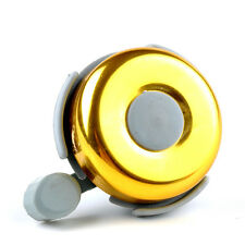 Traditional Bike Cycle Bicycle Bar Bell One Touch Ping Bell Ring Childrens-GOLD
