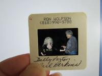Original Press Photo Slide Negative - Dolly Parton & Carl Perkins - 1980's