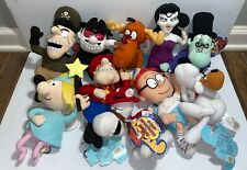 Rocky & Bullwinkle & Friends Cvs Beanbag Plush Lot Of 10 Cvs 2000 Stuffins