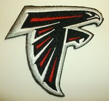 """Atlanta Falcons ATL Embroidered PATCH~3 1/2"""" x 3 3/4""""~Iron Sew On~NFL~Ships FREE"""