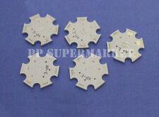 10pc x CREE XPE XPG 1W 3W 5W LED PCB Alu 20mm Star base plate Circuit board DIY