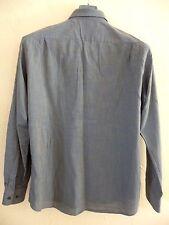 HUGO BOSS - Très jolie chemise gris / bleu  - Taille 16,5 / 42 - EXCELLENT  ÉTAT
