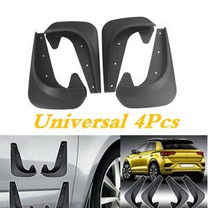 4x Car Accessories Mud Flaps Splash Guards Mudflaps Universal EVA Plastic Black