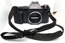Canon T50 35mm Film SLR stills camera iwith original strap Hanimex CX475 flash