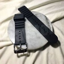 Glycine 20mm Silicone Strap With Pin Buckle Genuine