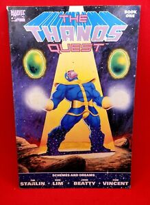 Thanos Quest: Book One (1990) 1st Print *Infinity Gauntlet Prelude*