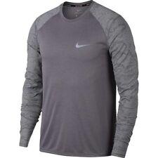 Nike Running Breathe Miler Long Sleeve Top Men's Size Medium 904665-036