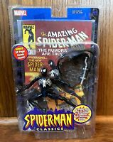 Symbiote Spider-Man Classics Figure New Toybiz 2000 Marvel Legends Black Suit