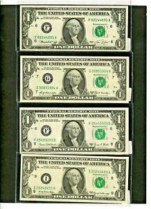 "4 FOR 1 ""ASSORTED ITEMS"" (4 FOR 1 MONEY)  $1 (1969,1969-B,1969-D & 1974) CRISPY!"