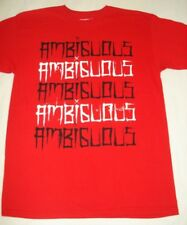 NEW AMBIGUOUS SKATE TRUCKS MEN TEE T SHIRT RED MEDIUM M code D13