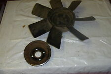 AMC Eagle/Concord/Spirit/DJ 4 cyl Engine fan with adapter,bolts and pulley!