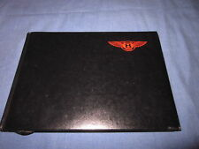 1990 BENTLEY MULSANNE S OWNERS MANUAL OWNER'S NEW