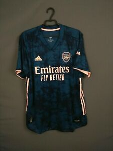 Arsenal Jersey Authentic 2020 2021 Third 3rd Size XL Shirt Adidas GH6654 ig93