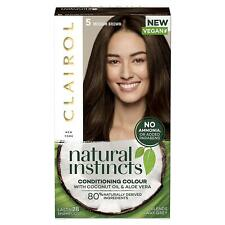 Clairol Natural Instincts Semi-Permanent No Ammonia Hair Dye - 5 - Medium Brown
