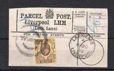 EDWARD VII 3d USED ON PARCEL POST LABEL