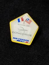 AIR FRANCE CONCORDE USA FRANCE Commenorative Pin