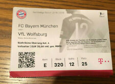 Sammler Ticket FC Bayern München -VFL Wolfsburg (25. Spieltag, 09.03.2019)