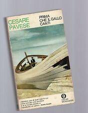 cesare pavese - prima che il gallo canti - edizione einaudi 1971