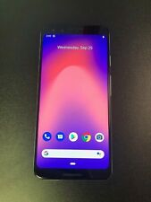 Google Pixel 3 - 64GB - Clearly White (Unlocked) Smartphone - Good Condition