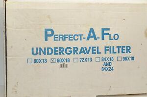 Perfect-A-Flo Undergravel Filter 60 x 18  Fresh Water, Salt Water 85/100/120gal