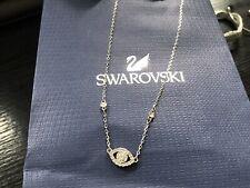 Swarovski Crystal Luckily Evil Eye Necklace Rhodium -5411141