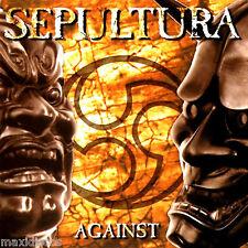 LP - Sepultura - Against (HEAVY METAL) HOLLAND PRESS. 1998 - AS MINT *COMO NUEVO