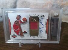 2008-09 SP Authentic Derrick Rose Rc Jersey On-Card Auto  092/299 BGS 9-10