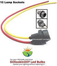 10 - T5 Landscape lighting replacement light sockets, 194, 912, 921, 922