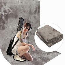 Fotostudio Stoff Hintergrund DynaSun W103 2,8x4,0 Grau Dicke Baumwolle 120g/sqm