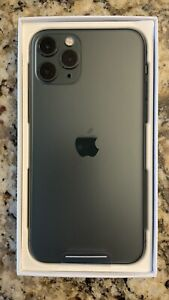 Apple iPhone 11 Pro - 256GB - Midnight Green (Unlocked) A2160 (CDMA + GSM)