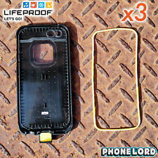 Lifeproof iPhone 5 5S Fre Nuud case main back o-ring 3 PACK waterproof seal new