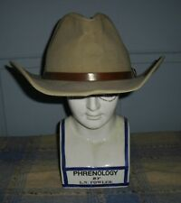 e578c7c5e10 Stetson Brown Canvas Cowboy Outback Style Hat - Small (6 1 4 - 6