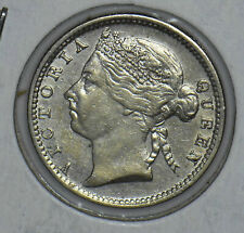 Straits Settlements 1899 Queen Victoria 10 Cents 291127 combine shipping