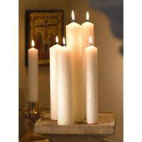 Altar Candles, 1 1/2 x 12, Plain End, Set of 12