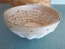 Longaberger WOVEN™ Collection Little Buddy Bowl basket NEW  Ready to ship!