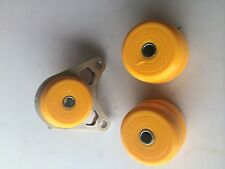 Land Rover Freelander rear diff mount bush set DURAFLEX Polyurethane - yellow