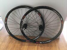 """Sun Ringle MTX S Type Wheelset 26"""", Hope Buld 20mm Bolt Thru 135mm Qr Rear Black"""