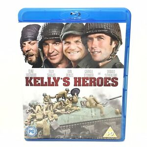 Kelly's Heroes , Blu-ray (Clint Eastwood, Telly Savalas) Like New - Free Post