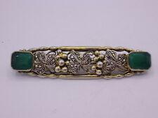Theodor Fahrner Jugendstil / Art Deco  Brosche Silber 935 punziert vergoldet