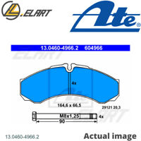 DISC BRAKE PADS SET  FOR IVECO RENAULT TRUCKS DAILY II PLATFORM CHASSIS ATE