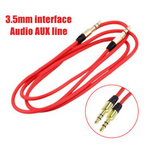 FT- CO_ Portable 3.5mm Male to Male Stereo Audio Cable AUX Auxiliary Cord for PC