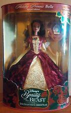 1997 Disney Beauty & the Beast Belle Enchanted Christmas Holiday Princess Belle