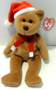 1997 Teddy Style 4200 Beanie Baby Bear 1996 Nice condition with Tag Protector