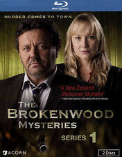 The Brokenwood Mysteries: Series 1 (Blu-ray Disc, NEW, 2015, 2-Disc Set)