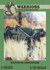 Warriors 1:35 Waffen SS Grenadiers - 2 Resin Figures Kit #35103