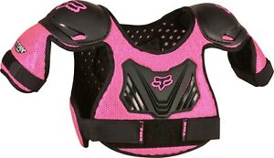 Fox Racing PeeWee Titan Roost Deflector Pink Youth Child Chest Protector MX ATV