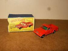 Ancienne / vintage - LESNEY MATCHBOX SERIES - N° 71 JEEP GLADIATOR PICKUP - 60's