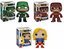 Funko POP! Television ~ ARROW, THE FLASH, SUPERGIRL ~ CW TV VINYL FIGURE SET