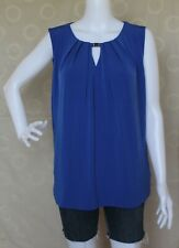 NWT Jones New York Signature Sleeveless Blouse $49
